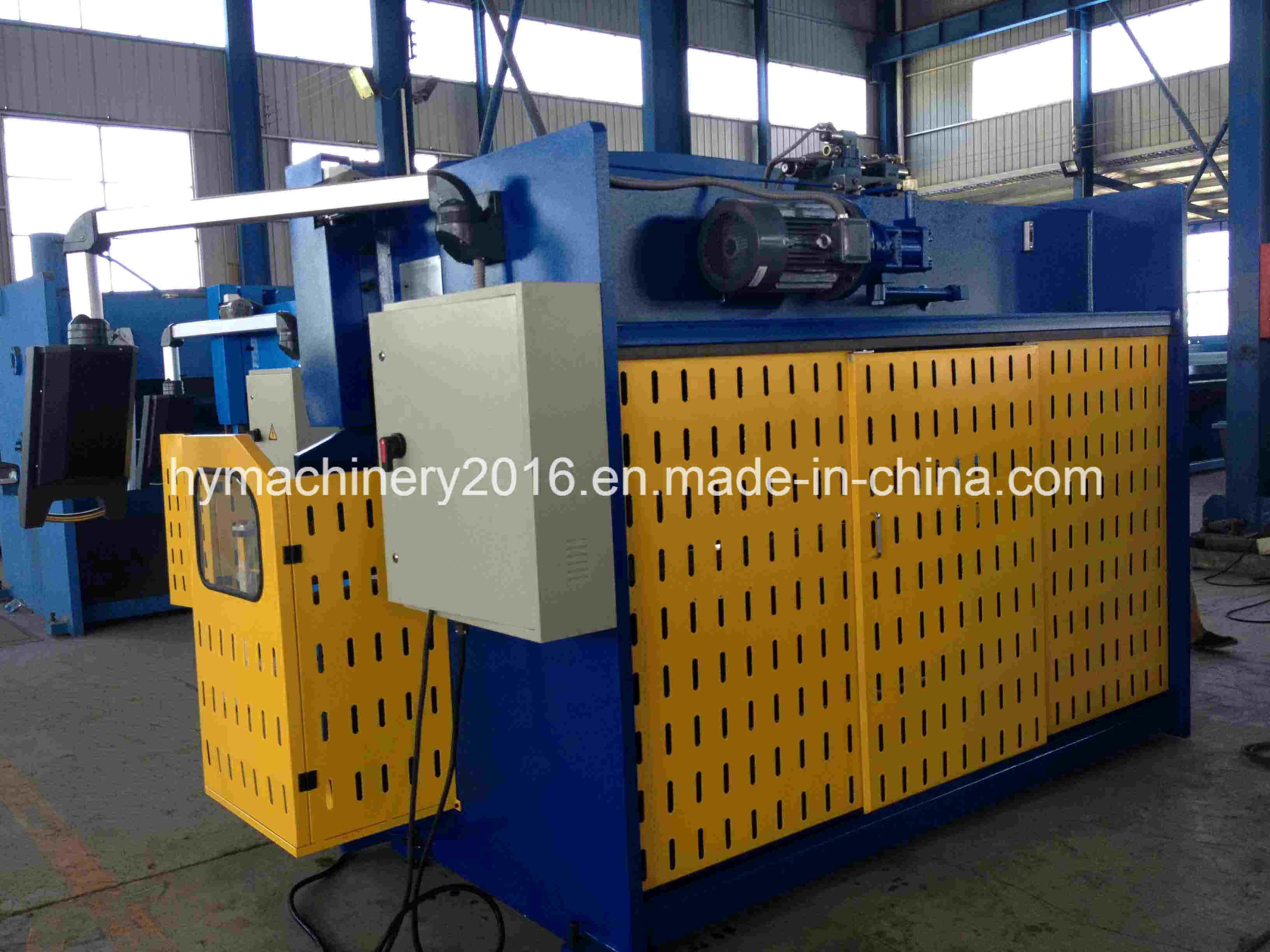 WC67Y-100X4000 hydraulic press brake bending machine