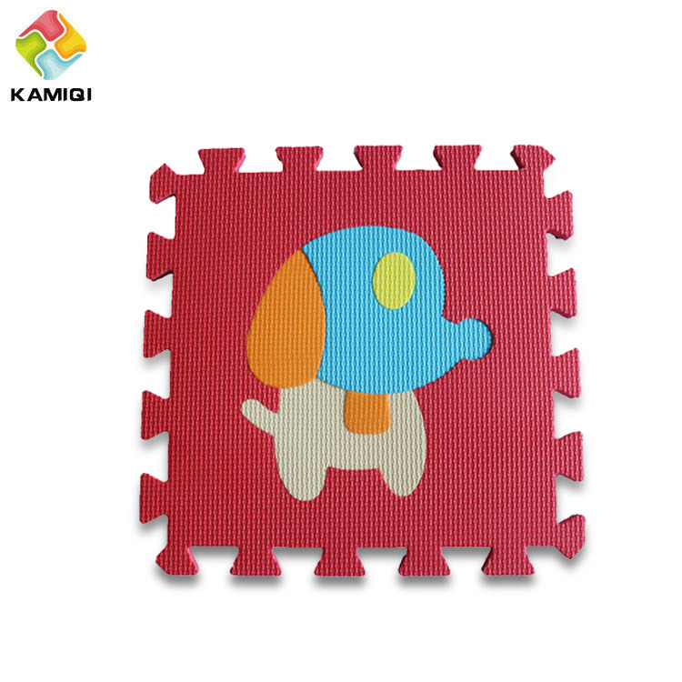 Animal Education EVA Foam Baby Play Mat