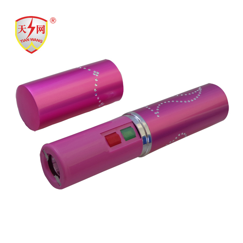 Pink Electrical Shock Torch with High Voltage Stun Guns (TW-328)