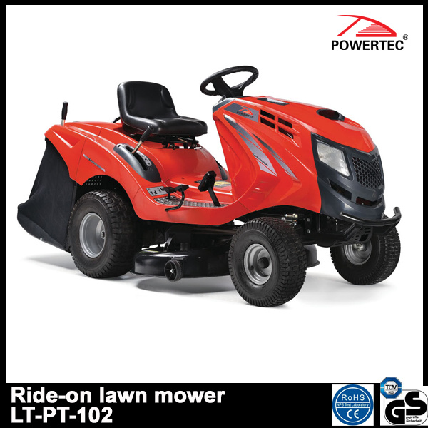 Powertec 17.5HP 102cm Ride on Gasoline Lawn Mower (LT-PT-102)
