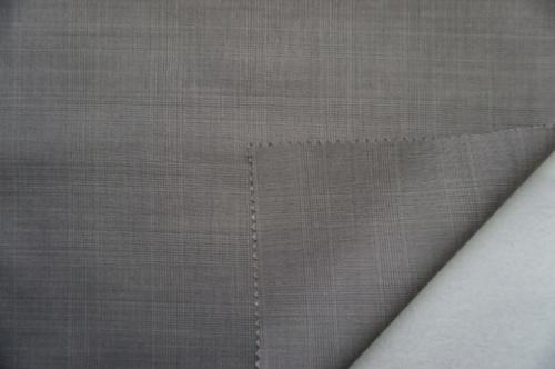 Plaid Plain Wool Fabric of 100% Wool