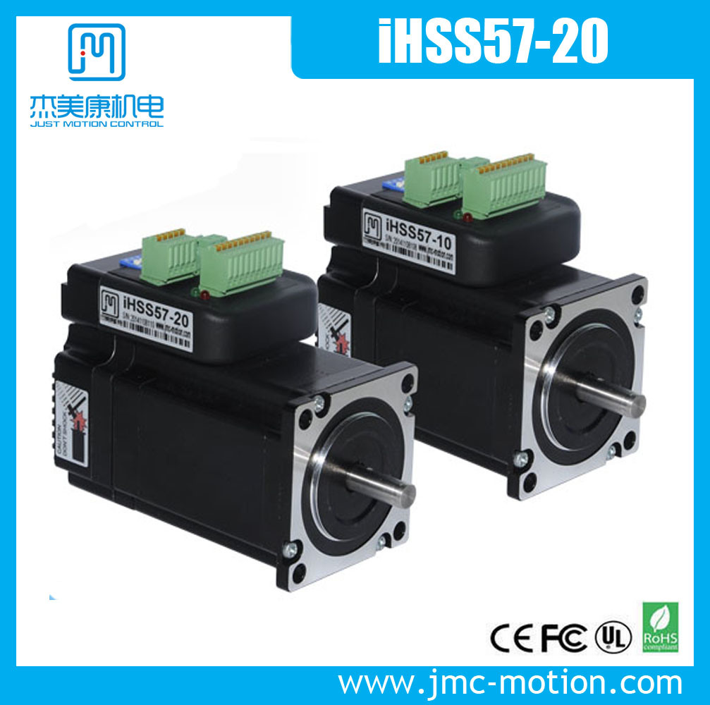 Compact Size Integrated Stepper Servo Motor with Encoder and Driver Together