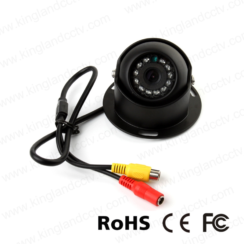 Mini Aluminum IR Dome Camera for Vehicle