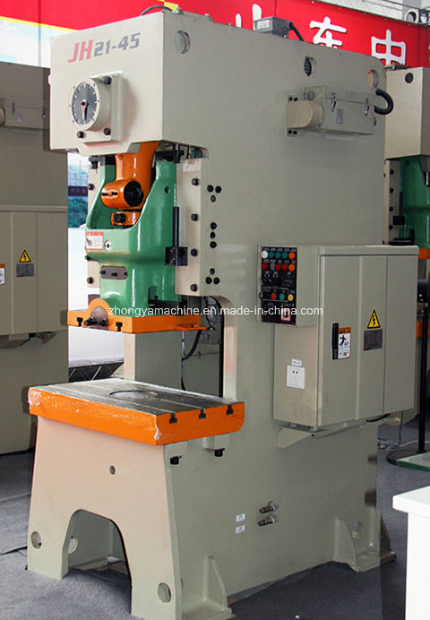 C Frame Pneumatic Power Press (punching machine) , Jh21-45ton