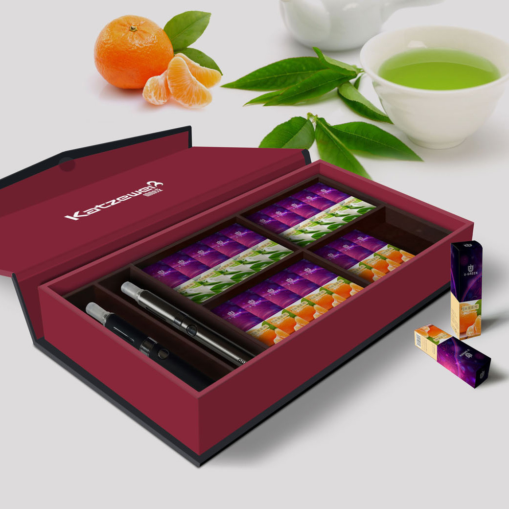 Custom Label 10ml/0ml/500ml Electronic Cigarette E Liquid