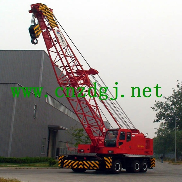 Dock Electric Wheeled Mobile Crane