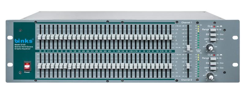Gqx3102 Graphic Equalizer, PRO Audio Equipment Processor
