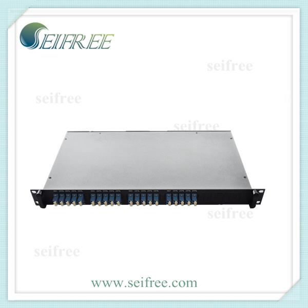 FTTH Passive Rack Mount Module 1X4 PLC Splitter