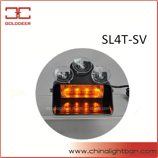 4W Amber Flashing Light LED Windshield Light for Car (SL4T-SV)