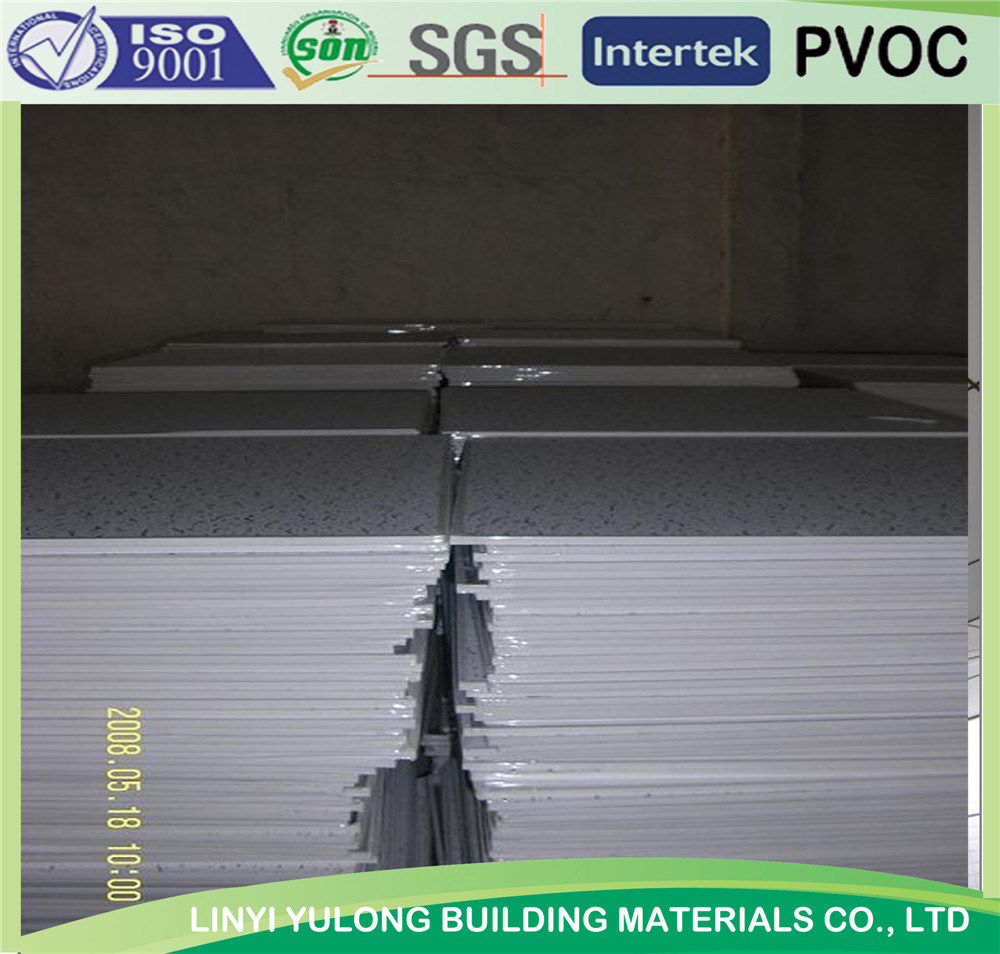 2′x4′ PVC Laminated Gypsum Ceiling Tiles