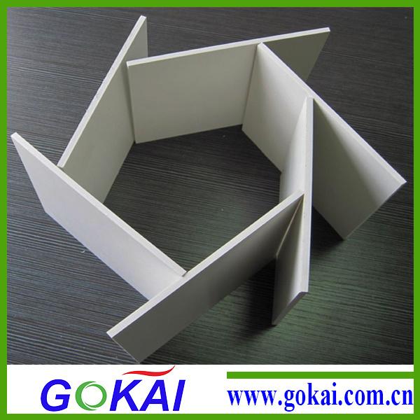 (RoHS) 7mm 1220*2440mm PVC Foamed Board for Furniture