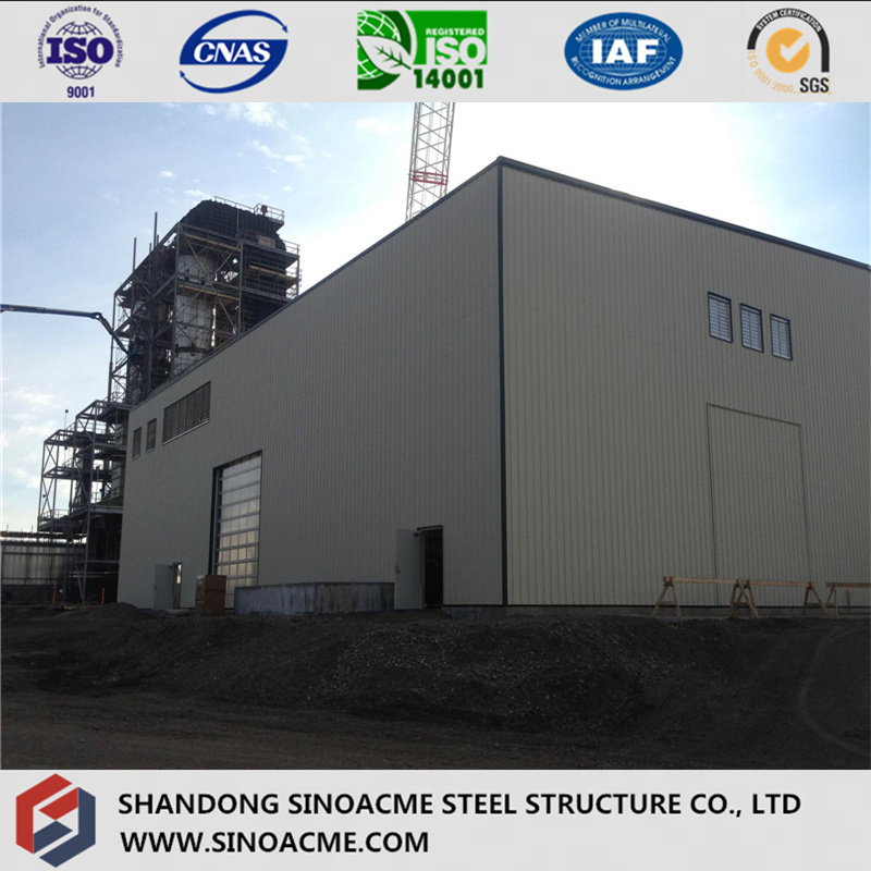 Heavy Steel Frame Structure for Power Plant Boiler