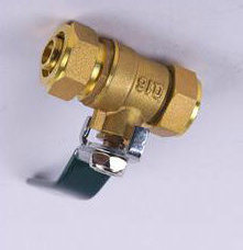 The Brass Fixed Ball Valve