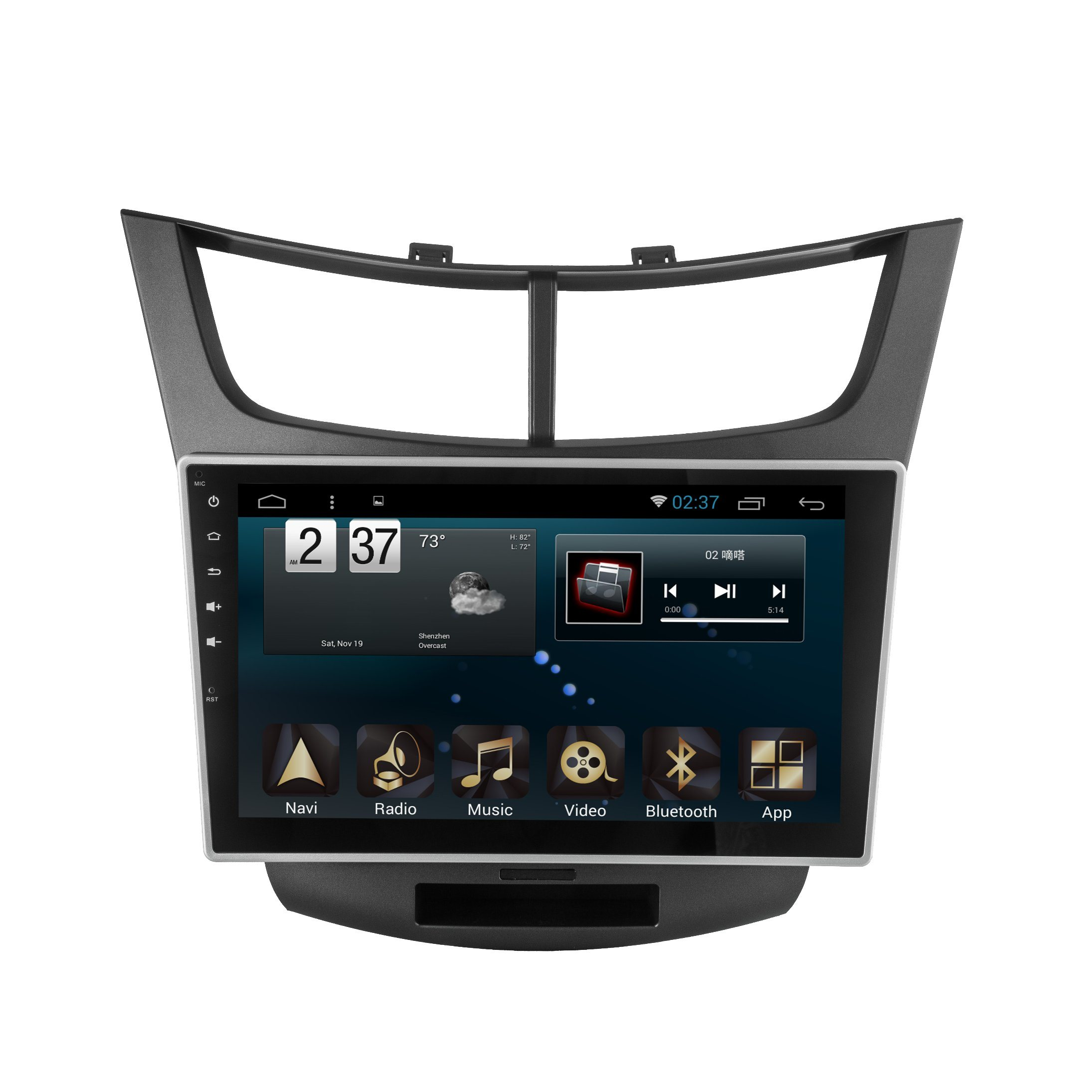 New Ui Android System Car Accessories for Sail 3 2015 with Car GPS Navigation