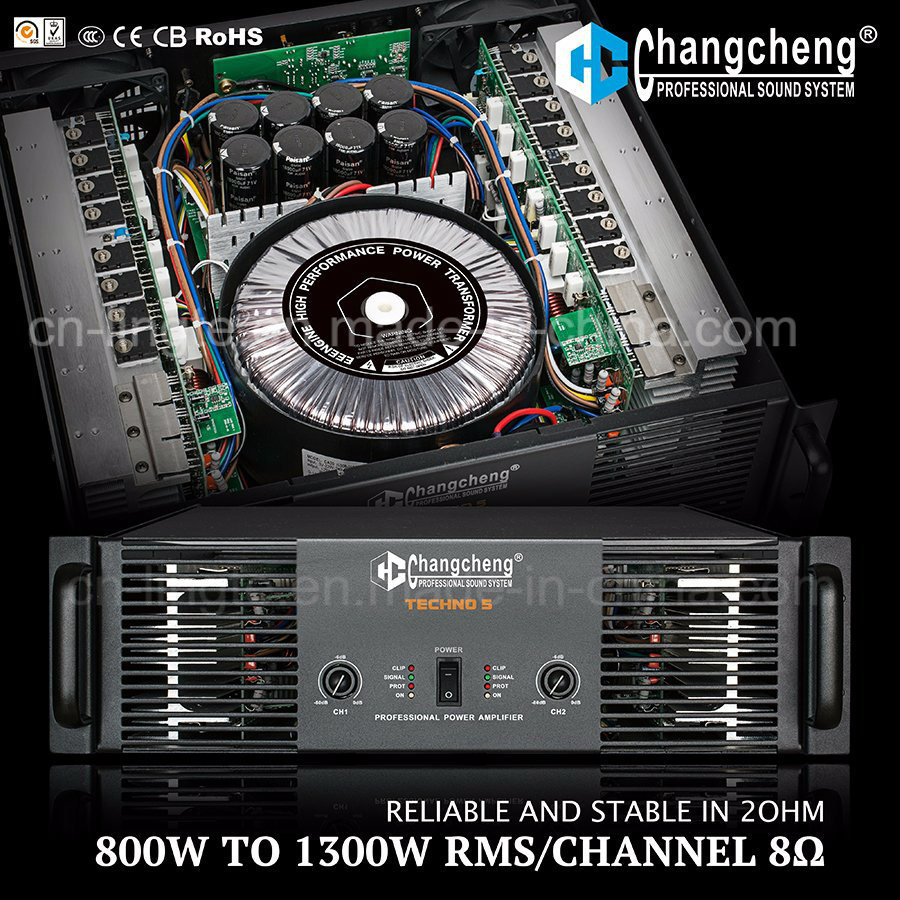 Techno Series Class H DJ Professional Power Amplifiers