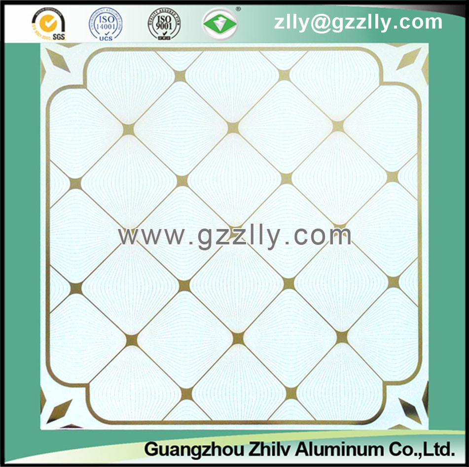 Decorative Roller Coating Printing Ceiling Panel for Building Material -Chinese Enkianthus