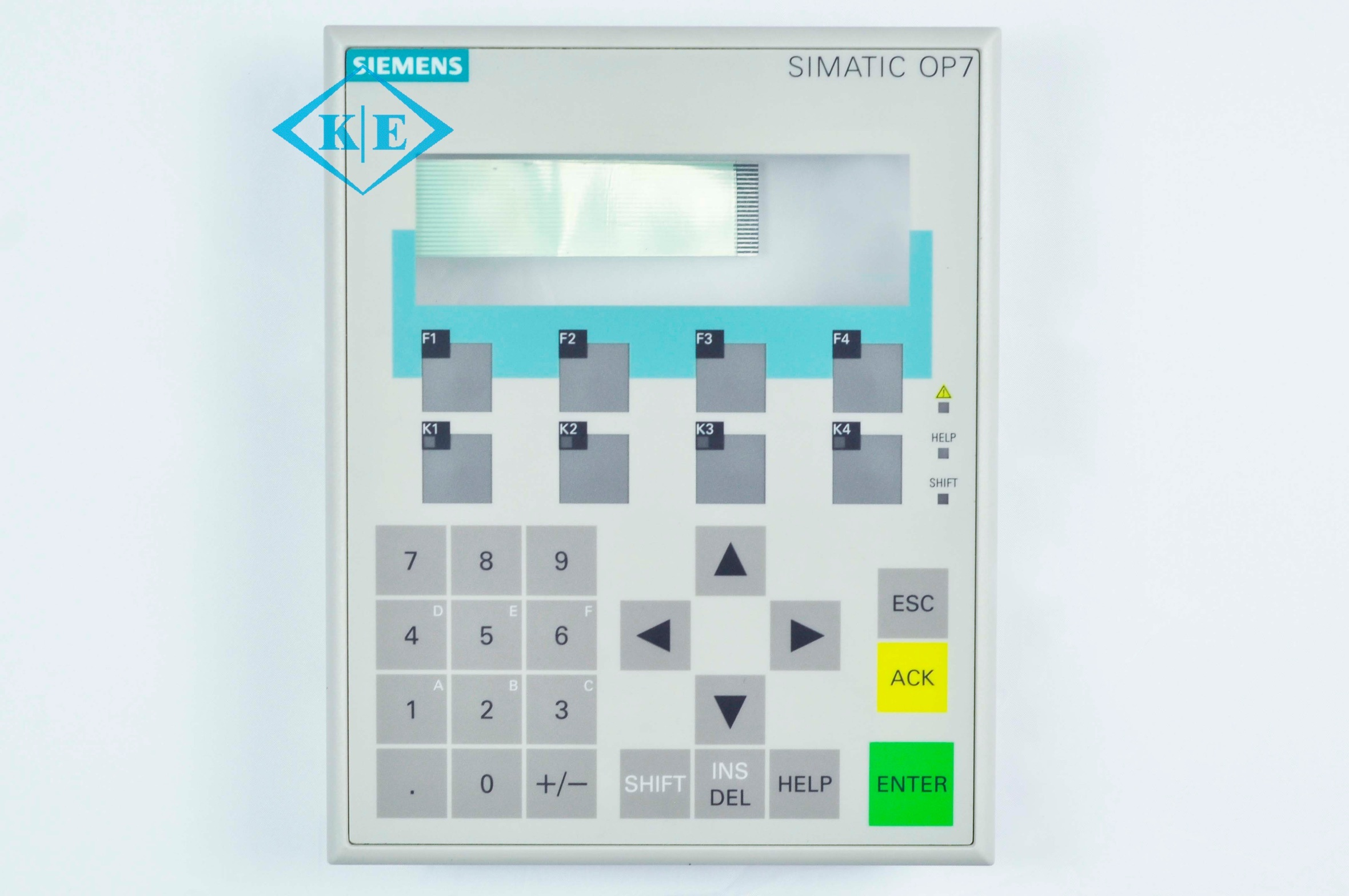 Industrial Simatic Serial Metal Dome LED Membrane Keypad with Plastic Bezel