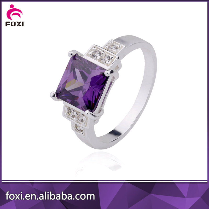 Wholesale Plated 18k Gold or White Gold CZ Jewelry Rings