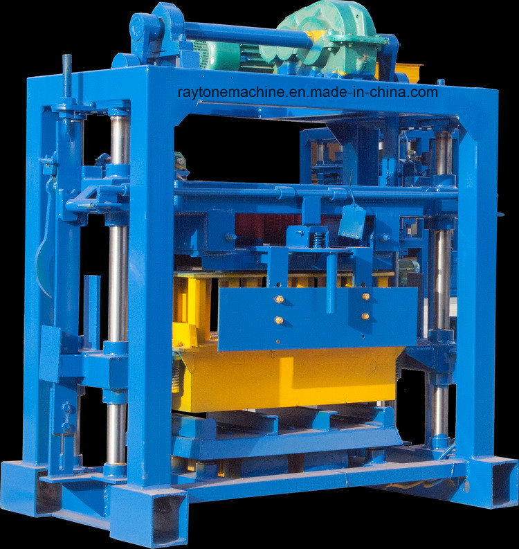Qt40-2 Manual Cement Hollow Block/ Brick Making Machine