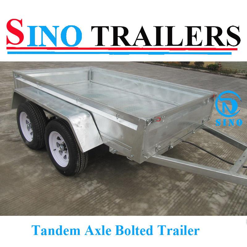Aussie Tandem Utility Trailer with Heavy Duty Box