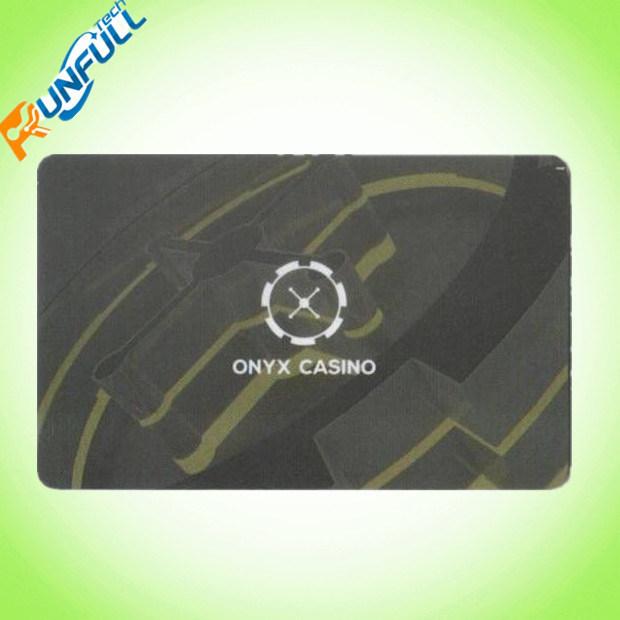 Cmyk 4/4 Colors Printing 0.76mm Plastic PVC Card