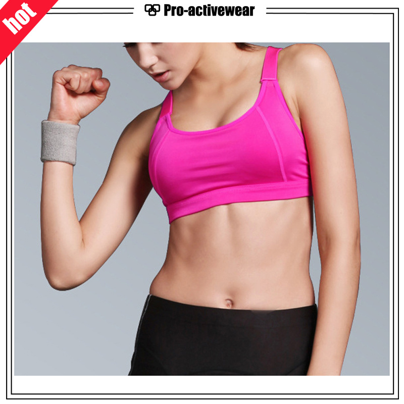 OEM Factory Fashion Women Top Ladies Sexy Yoga Sports Bra