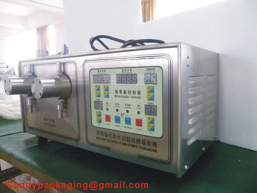 Semi-Automatic Liquid Bottle Filling Machine