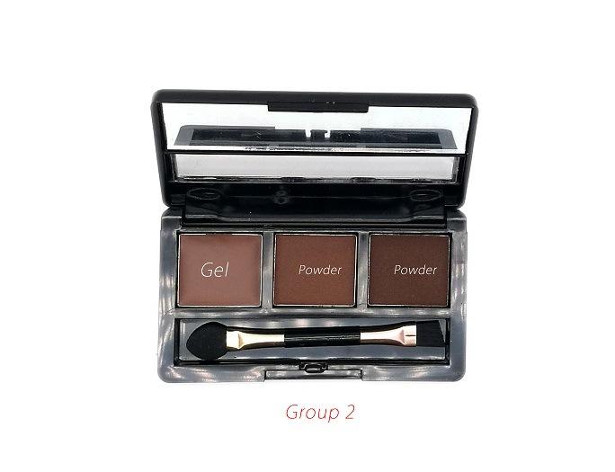 2 Powder + 1 Gel High Quality Professional OEM/ODM Eyebrow Palette