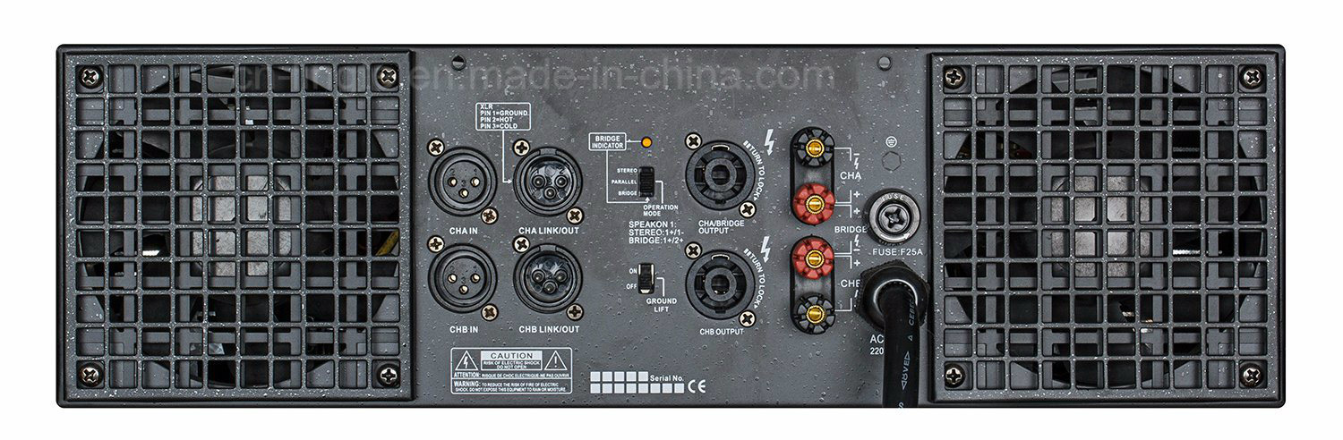 Hx Series High Quality MID Power Class H Power Amplifier
