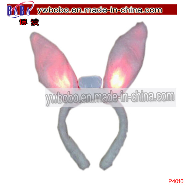 Holiday Items Hair Jewelry LED Easter Rabbit Wedding Accessories (P4010)
