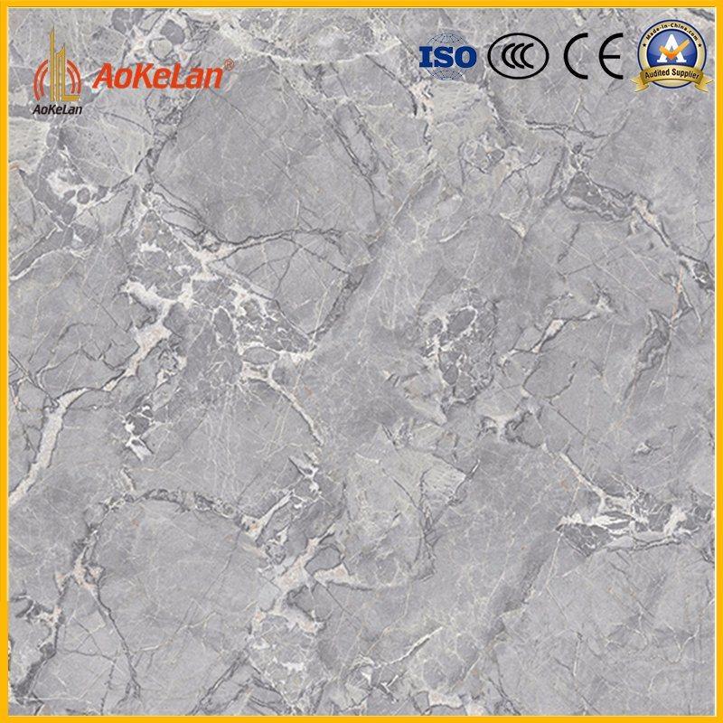 600X600mm Marble Copy Glazed Polished Tile with 3D-Inkjet Design