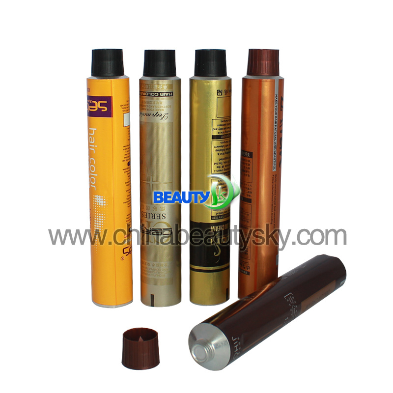 Beauty Hair Color Packaging Tube for Coloring and Nourishing The Hair Shafts