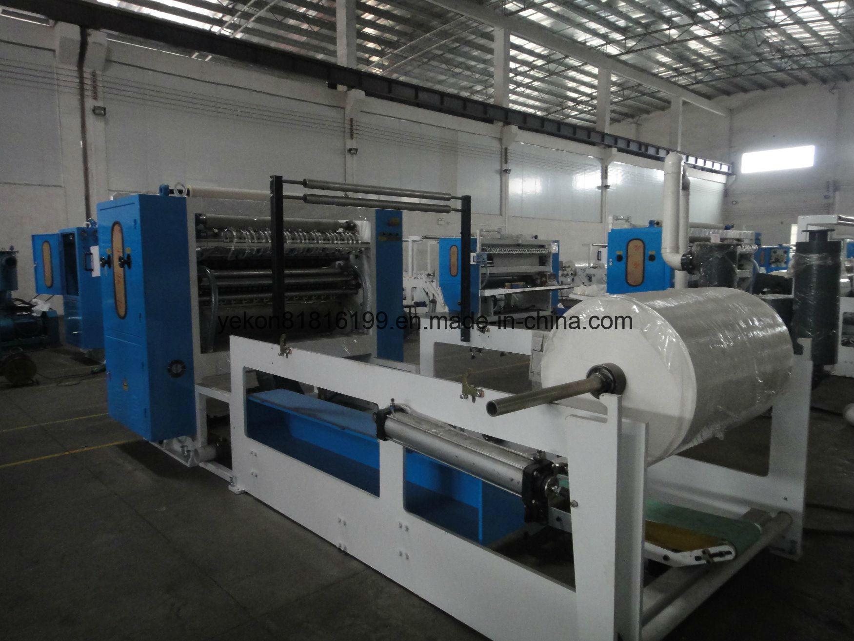 5 Line Tissue Folding machine