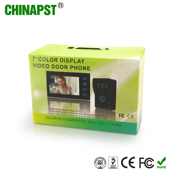 Waterproof RFID ID Card Intercom Villa Video Doorphone (PST-VD704T-ID)