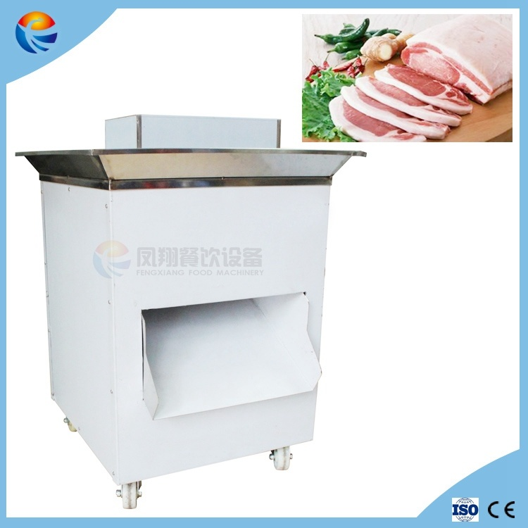 Commercial Automatic Restaurant Frozen Ribs Bone Steak Meat Slicer with Bone