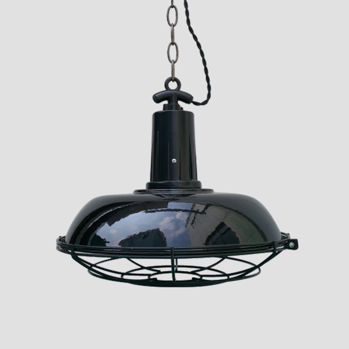 Black Industry Retro Light for Kitchen