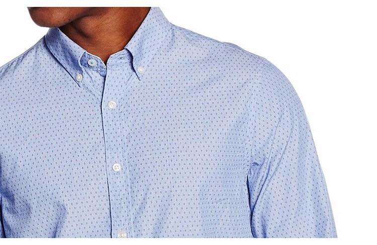 Men′s Long Sleeve Casual Button Down Leisure Shirts