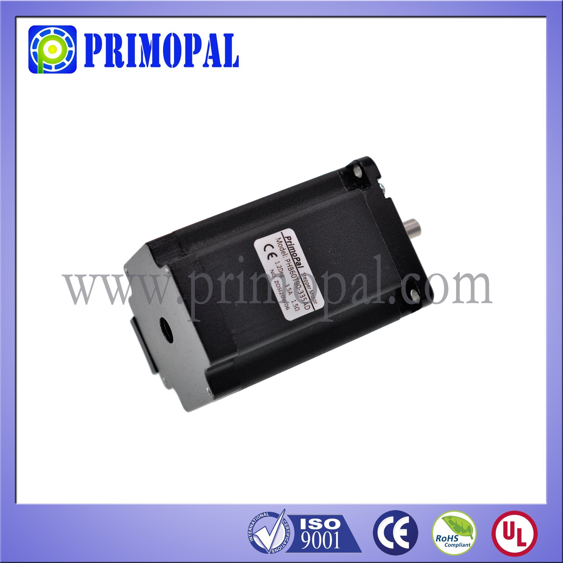 Most Popular NEMA 24 Stepper Motor for Embroidery Machine