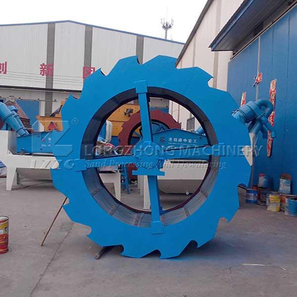 50t/H Wheel Sand Washing Machine