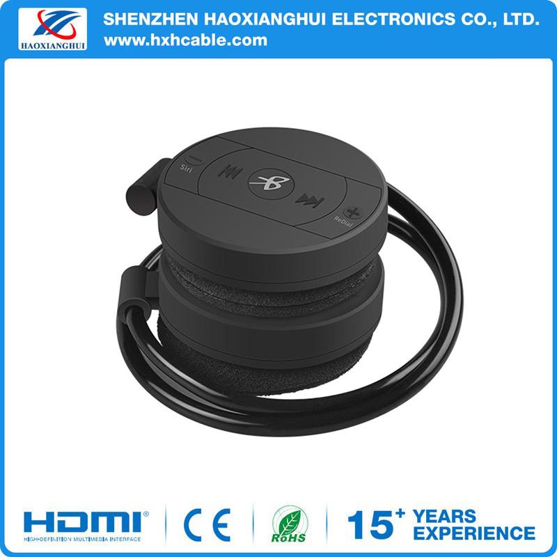 Universal Black Wireless Sport Running Stereo Music Bluetooth Headset
