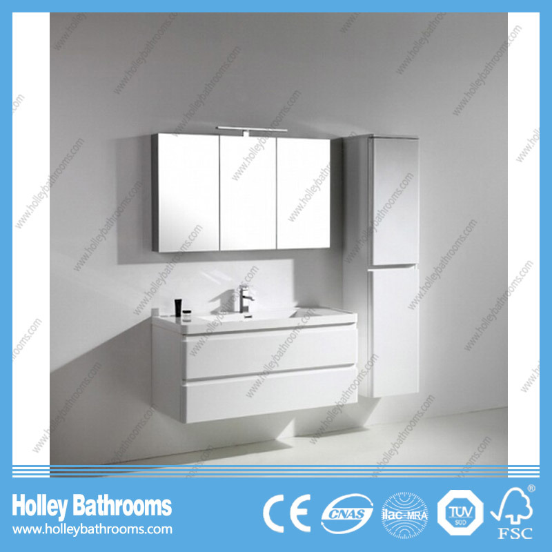 Hot Selling Bathroom Vanity with Mirror and 2 Side Cabinets (BF381D)