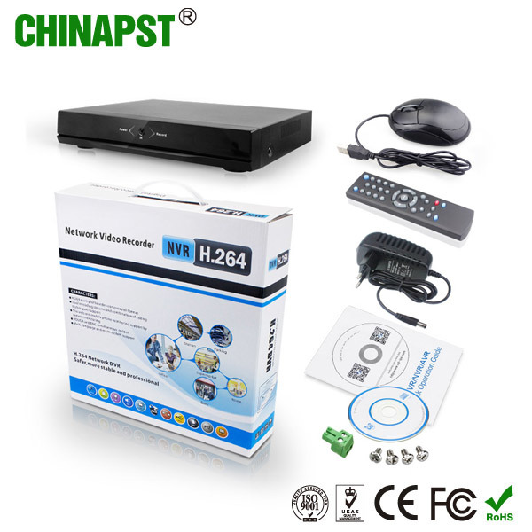 2017 Hot Sale H. 264 8 CH Digital Video Recorder CCTV DVR (PST-NVR008)