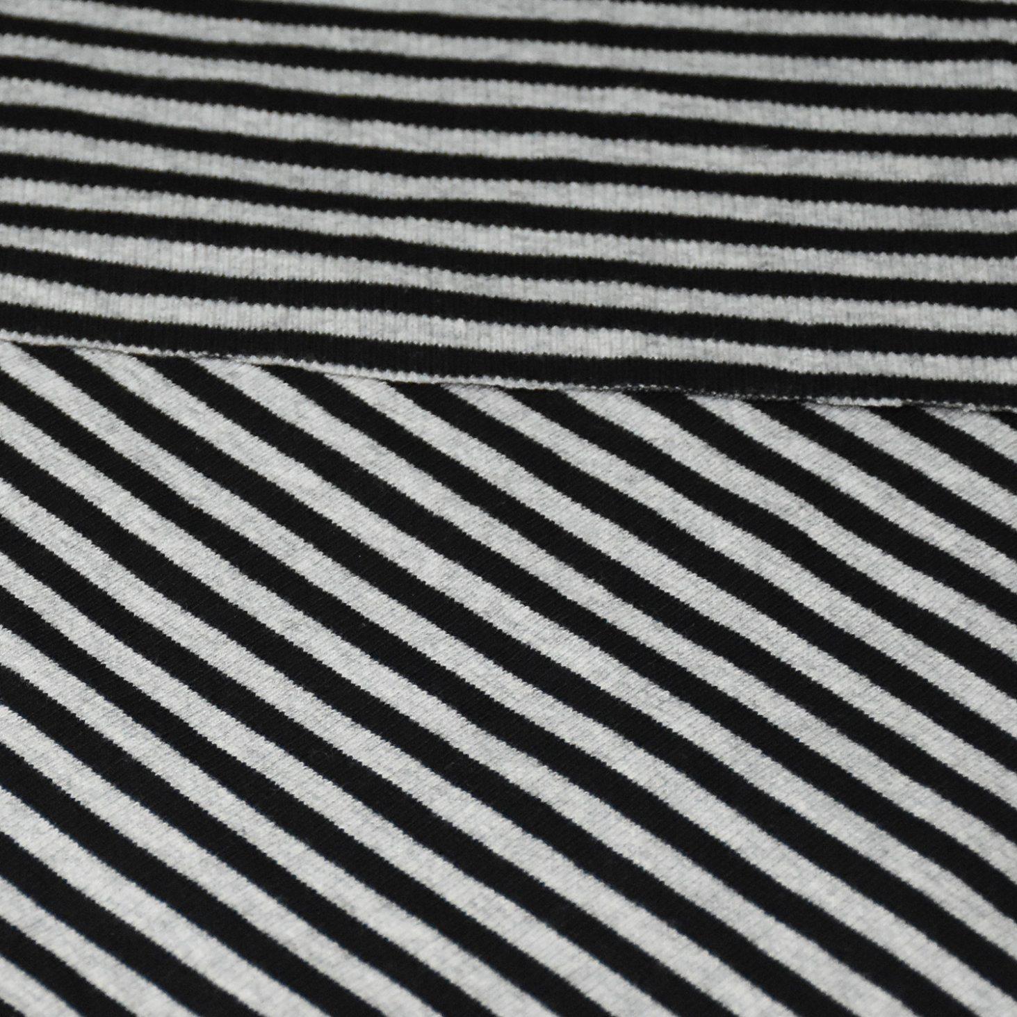 260GSM Cotton Spandex Yarn Dyed Stripe Rib