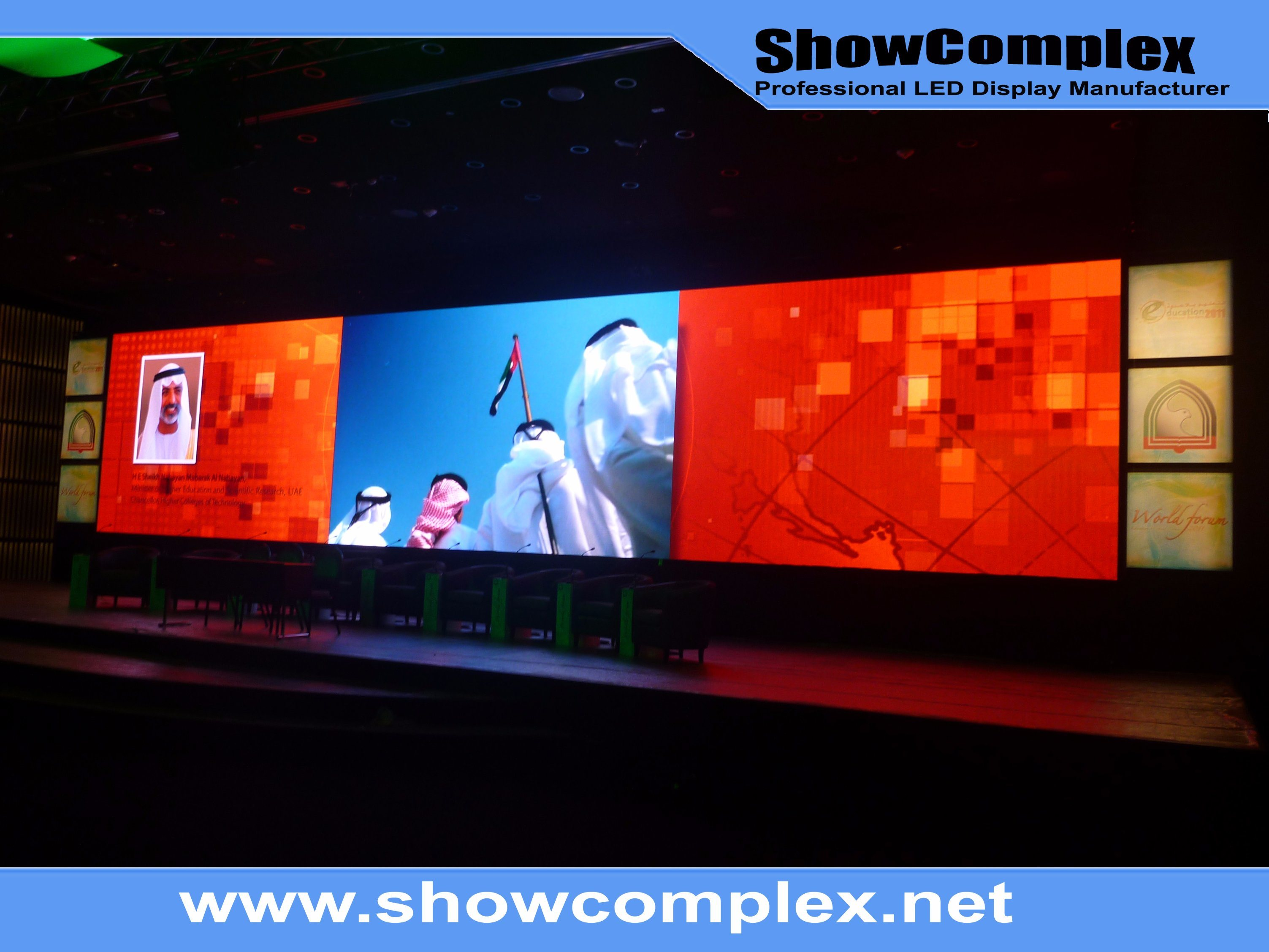 P3.9 Indoor HD LED Display Screen for Stage