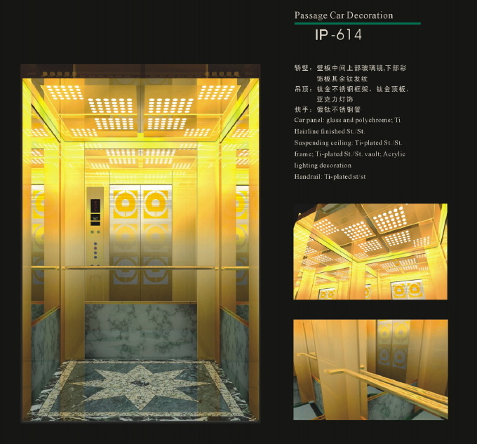 Energy Saving Type Passenger Elevator