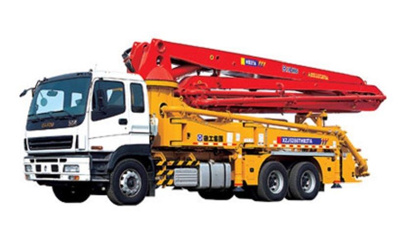 Made in China 6wf1 Engine Concrete Pump