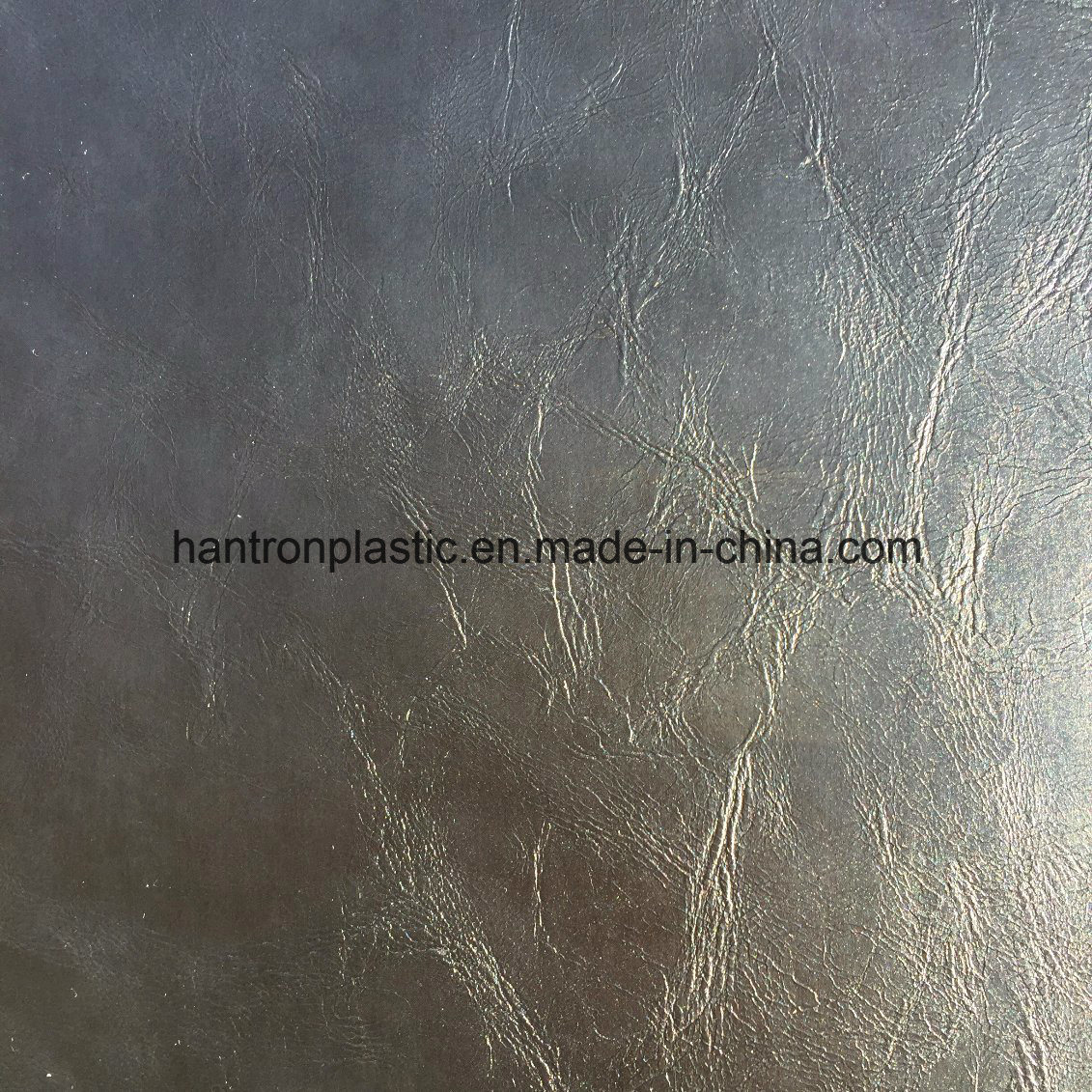 China Oil Wax PVC Faux Leather for Sofa Furniture Chair