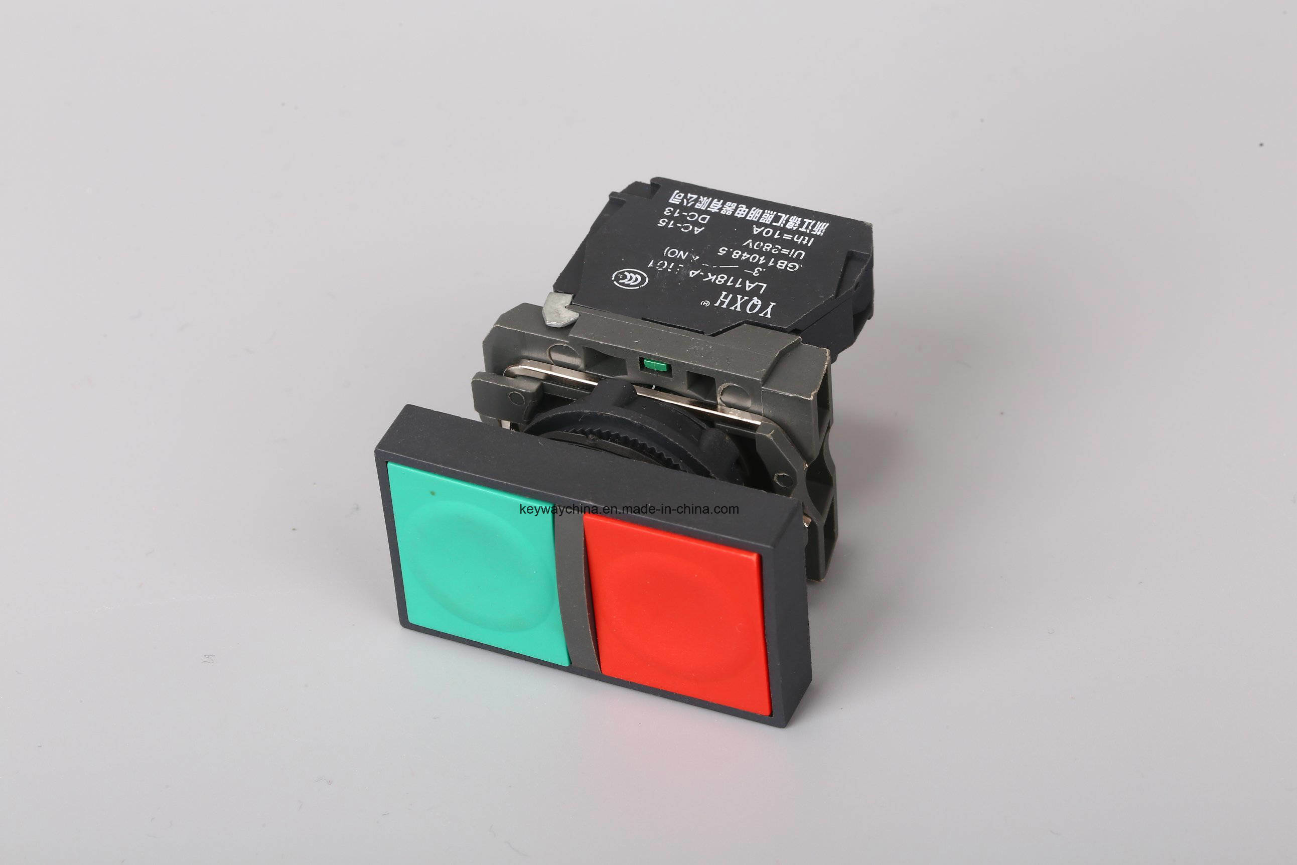 Metal Type Push Button Switch, Red with CB/Ce/CCC Ceitification