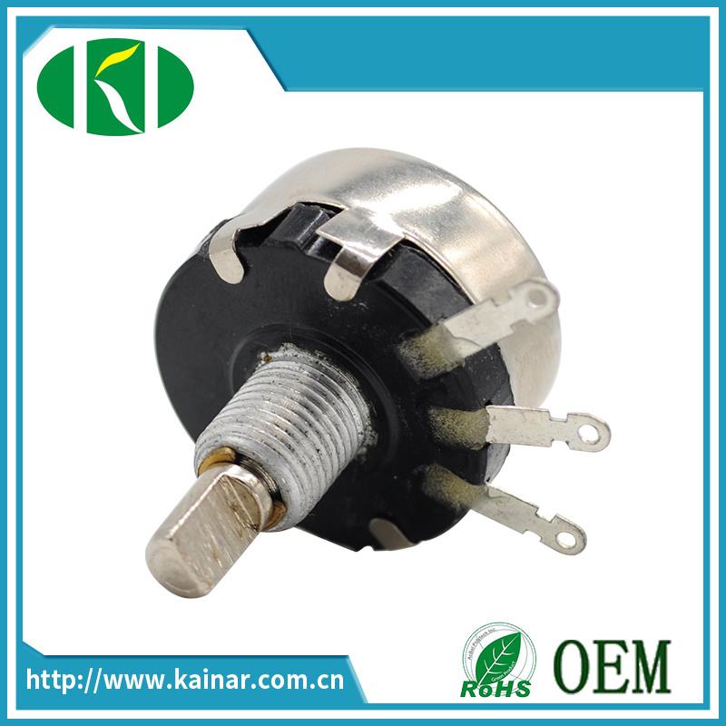 Wx010 Single Turn Wire Wound Potentiometer