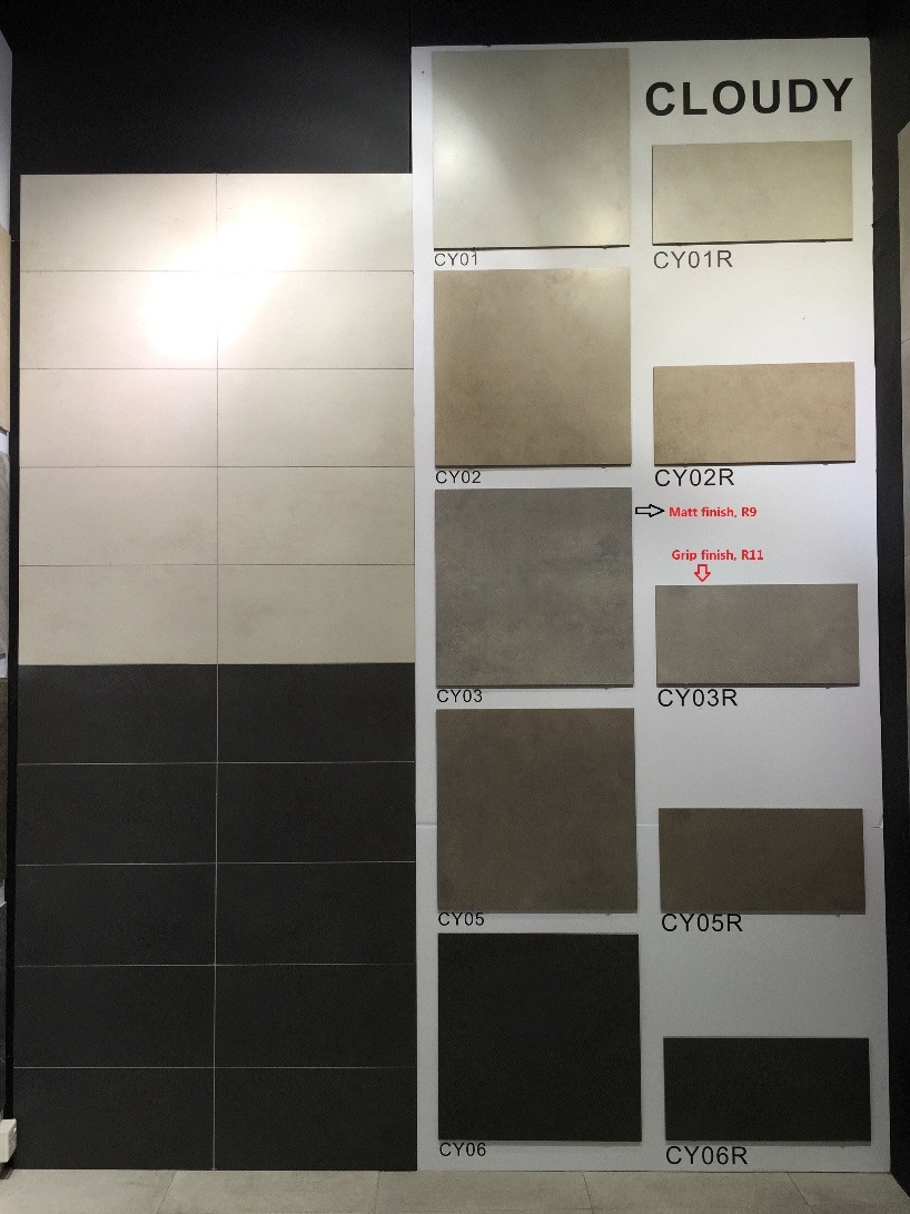 Color Body Stone Design Glazed Porcelain Tiles for Floor and Wall 600X600mm (CY06)